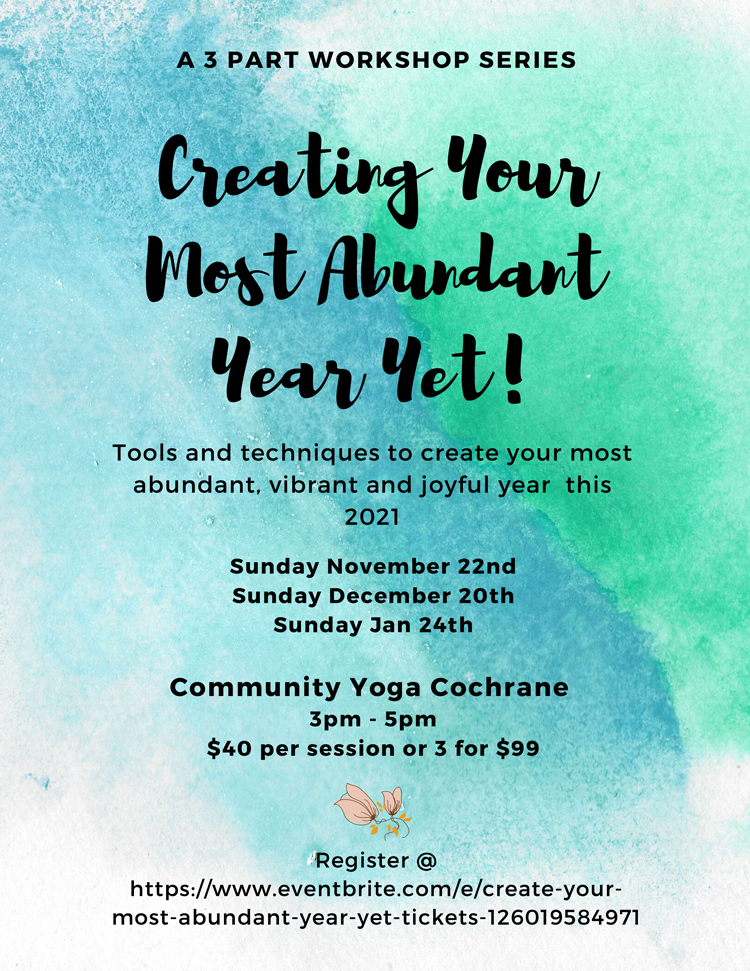 Upcoming Event at Cochrane Family Chiropractic
